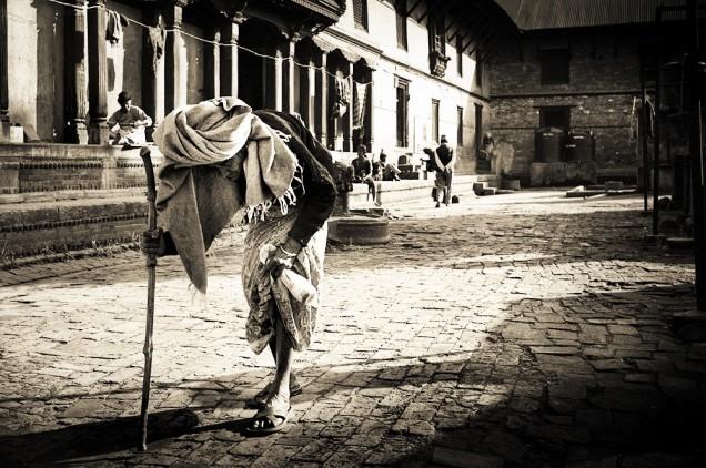 elderly«s home / kathmandu / nepal / 2011